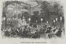 Café-concert des Champs-Élysées, ryc. LVI