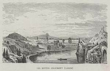 Les Buttes Chaumont (jardin), ryc. LX