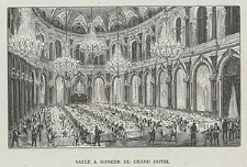 Salle à manger du Grand Hôtel, ryc. LXXII