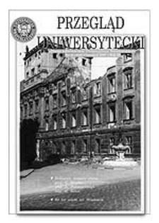 Przegląd Uniwersytecki (Wrocław) R.11 Nr 11 (116) listopad 2005