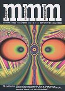 MMM Magazyn Miłośników Matematyki 2003 Nr 2 (3)