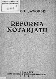 Reforma notarjatu