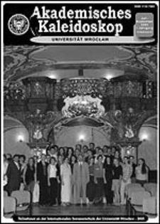 Akademisches Kaleidoskop Jg.1 Nr 3 Juli-September 2003