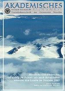 Akademisches Kaleidoskop Jg.3 Nr 4 (12) Oktober-Dezember 2005