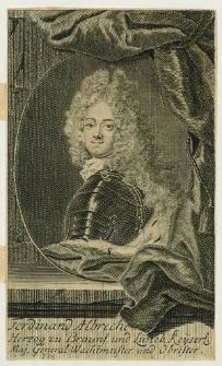 [Braunschweig Ferdinand Albert von]