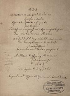 Quaestiones aliquot iuridicas sparsim collectas sub praesidio Gerhardi von Stokken ventilandas