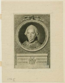 [Carmer Johann Heinrich Casimir von]