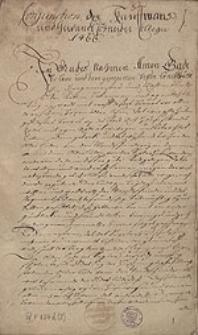 [Miscellanea ad historiam Stettinensem spectantia. Tomus II.]