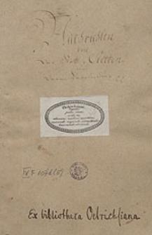 [Miscellanea ad historiam Stettinensem spectantia. Tomus V.]