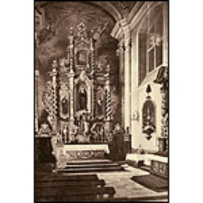 Hauptaltar der inneren Kirche