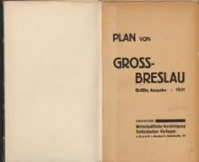 Plan von Gross-Breslau