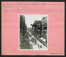 Sängerbundfest 1937 - Der Festzug der Sänger