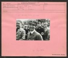 12. Deutsche Sängerbundfest 1937. Reichsminister Dr. Goebbels