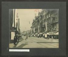 [Wrocław, ul. Świdnicka. Dni Cesarskie w 1913 r.]