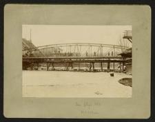 [Wrocław (?), budowa mostu]