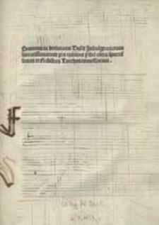 Summaria declaratio bullae indulgentiarum contra Turcas concessarum.