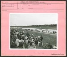 Deutsches Turn- und Sportfest 1938. Kanukämpfe auf der Regattastrecke im Hermann Göring-Sportfeld.