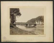 Gröschel-Brücke vor dem Abbruch i. J. 1895