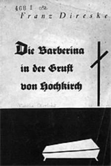 Die Barberina in der Gruft von Hochkirch