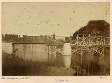 [Wrocław, dawny most Uniwersytecki podczas budowy]