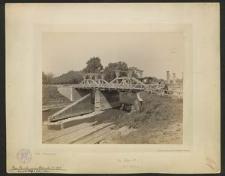 Pass-Brücke vor dem Abbruch i. J: 1895