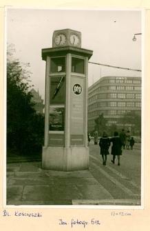 Wrocław, pl. Tadeusza Kościuszki, widok w kierunku północno wschodnim.