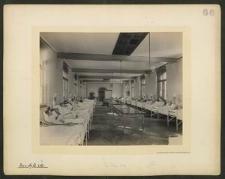 W. H. Krankenhaus. Innere Ansicht des Krankensaales.