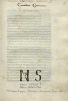 Bulla: Ad sacram Petri sedem [...].