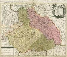 Le Royaume de Boheme[,] Duché de Silesie, Les Marquisat de Moravie et de Lusace