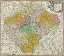 Bohemiae Regnum in XII Circulos divisum cum Com. Glac. et Distr. Egerano ceterisq[ue] circumiacentibus terris [...]