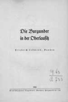 Die Burgunder in der Oberlausitz