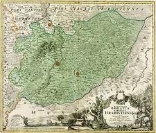 Marchionatus Moraviae Circulus Hradistiensis quem mandato caesareo accurate emensus hac mappa delineatum exhibet Joh. Christ. Müller [...]