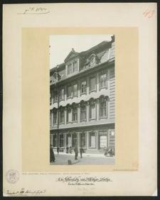 Ecke Ritterplatz und Altbüßer-Straße. Vor dem Aufbau im Jahre 1901.
