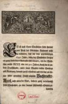 [Buchdrucker Jubiläum 1740]