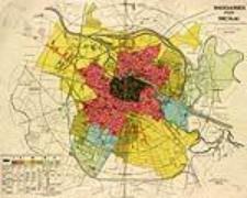 Bauklassen Plan von Breslau nach der Baupolizeiverordnung vom 19.5.1908