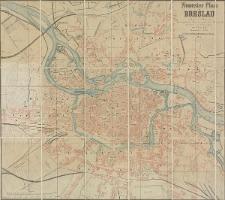 Neuester Plan von Breslau nach dem vom Magistrat herausgegeben Plane [...] gezeichnet und litographirt von S. Lilienfeld
