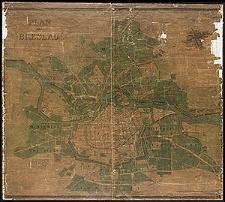 Plan von Breslau aufgenommen und gezeichnet von dem Königl. Conducteur Eduard Hoffmann