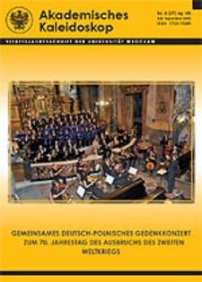 Akademisches Kaleidoskop Jg.7 Nr 3 (27) Juli-September 2009