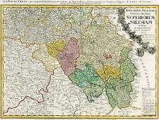 Ducatus Silesiae tabula altera Superiorem Silesiam exhibens ex mappa Hasiana majore desumpta et excusa per Homannianos Heredes