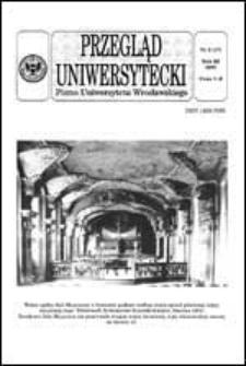 Przegląd Uniwersytecki (Wrocław) R.3 Nr 3 (17) 1997