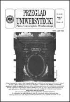 Przegląd Uniwersytecki (Wrocław) R.3 Nr 5 (19) 1997