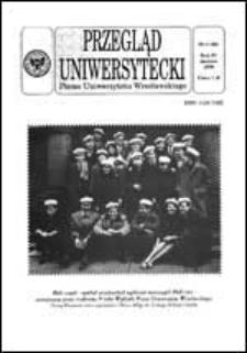Przegląd Uniwersytecki (Wrocław) R.4 Nr 3 (26) marzec 1998