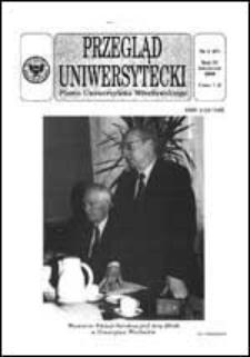Przegląd Uniwersytecki (Wrocław) R.4 Nr 4 (27) kwiecień 1998