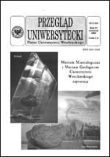 Przegląd Uniwersytecki (Wrocław) R.6 Nr 8 (53) sierpień 2000
