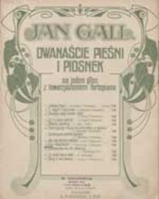 Trzy Księżniczki [z cyklu:] Dwanaście pieśni i piosenek na jeden głos z towarzyszeniem fortepianu