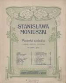 Pieśń Wieczorna [z cyklu:] Piosenki Sielskie Władysława Syrokomli : (z Kantaty: Rok w pieśni)
