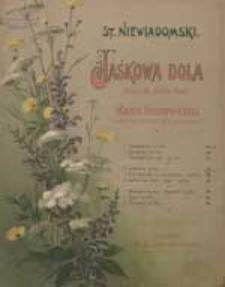 Latawica [z cyklu:] Jaśkowa dola : pieśni na jeden głos