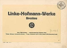 Linke – Hofmann – Werke Breslau