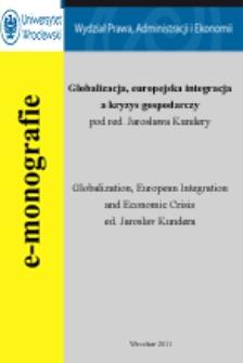 Pomoc publiczna UE w warunkach kryzysu gospodarczego