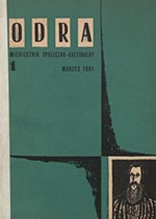 Odra (Wrocław 1961) R.1 Nr 1 marzec 1961 [PDF]
